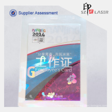 A4 125 Micron Custom Logo Hologram Laminating Pouches Film